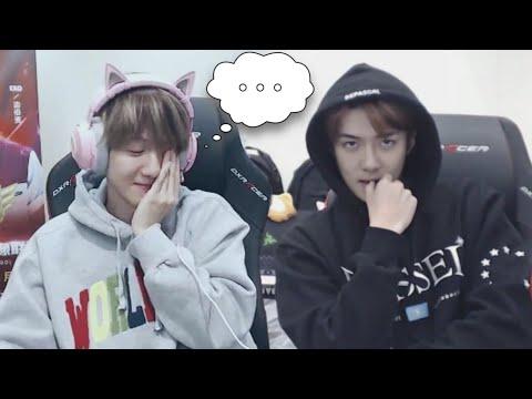 can we still trust EXO after this stream? (baekhyun sehun pubg)