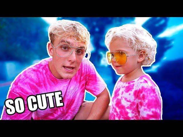 Mini Jake Paul Tydus Talbott Youtube S 4 Year Old Star Insider