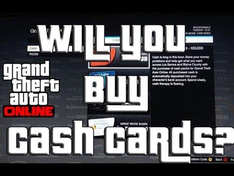 "GTA 5 Online Cash Cards ""GTA Online"" Shark Card"