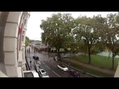 Franklin's Row/Cheltenham Terrace Traffic, Chelsea, London SW3  6x Speed