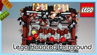 Lego Haunted Fairground - Coconut Shy, Dead Fish Stall, Ferris Wheel (Update 16)
