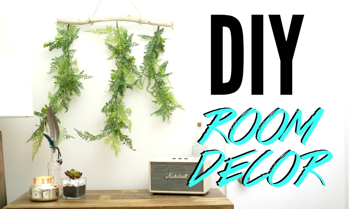 Diy room decor cheap simple tumblr room decorations for Diy room decorations youtube