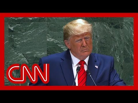 Hear Trump's full remarks on Iran from his UN address