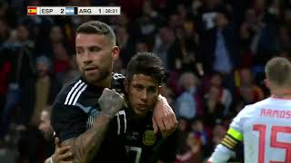 Download Video Spain 6 1 Argentina All goals & Highlights Commentary Friendly Match MP3 3GP MP4