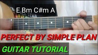 Perfect (SIMPLE PLAN) - Guitar Tutorial
