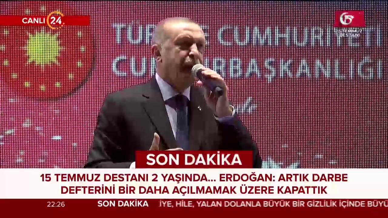 Başkan Erdoğan: Rabbim bu birliğimizi, dirliğimizi, kardeşliğimizi daim eylesin