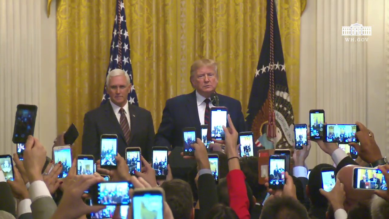 Image result for President Trump Delivers Remarks at the Hispanic Heritage Month Reception