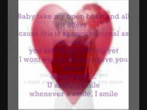 u smile justin bieber with lyrics =]