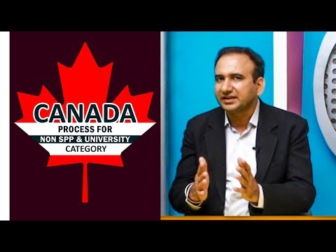 Canada Non SPP or University Category Process