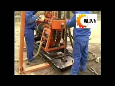 The working process of the drilling rig