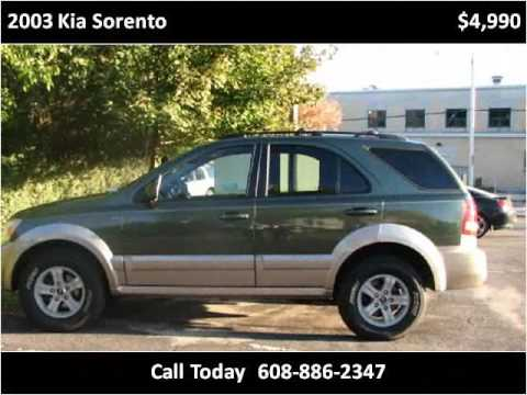 2003 Kia Sorento Used Cars Sun Prairie Wi Youtube