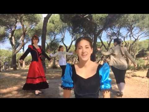 Baile a la orilla del rio manzanares