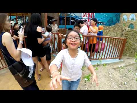 LET'S GO NINA...!! - Movie Animation Park Studios MAPS Perak @ Meru Raya, Perak (Part 2)