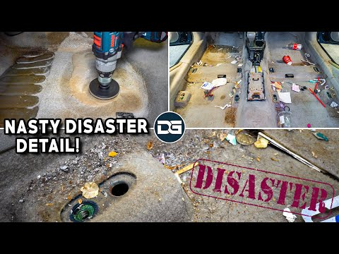 Deep Cleaning a SMOKER'S Dirty Car | DISASTER Car Detailing