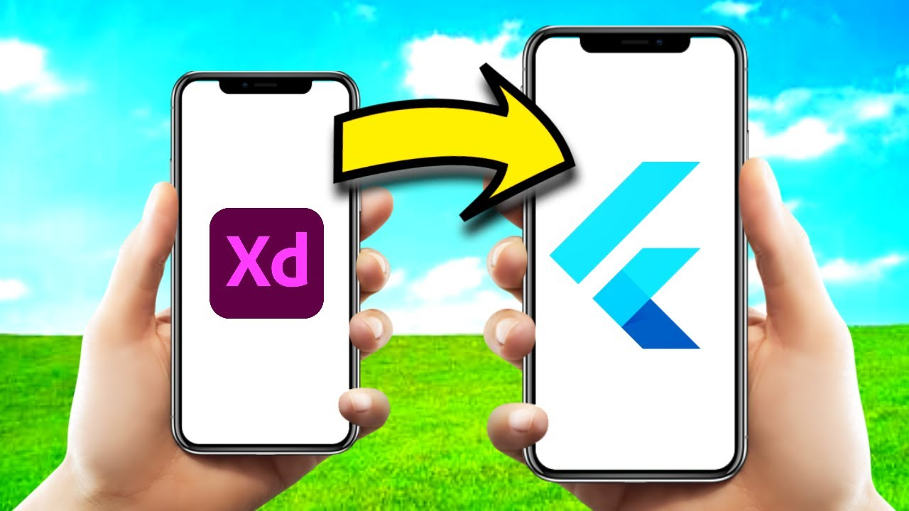 Export Adobe XD into Flutter Without Coding