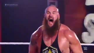 Braun Strowman wins the WWE title for the first time!