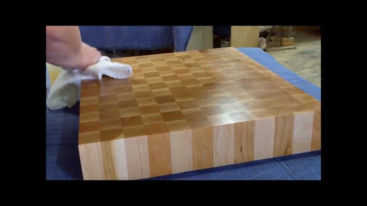 END GRAIN BUTCHER BLOCK   YouTube
