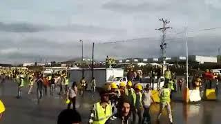 İstanbul 3  Havalimanında İşçiler Eylem Başlattı
