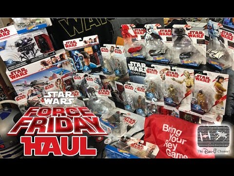 Star Wars Force Friday II Haul | Star Wars the Last Jedi Toys | The Dan-O Channel