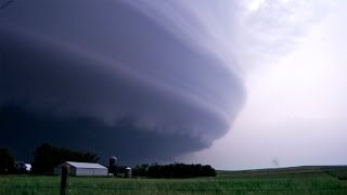 THE STORM OF A LIFETIME - Tornadoes & Lightning, Laurel NE  (6-17-14)