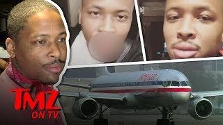 YG Gets Kicked Off Plane For What?! | TMZ TV