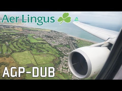 STORM ALI! Aer Lingus Airbus A330-302 Windy Arrival in Dublin