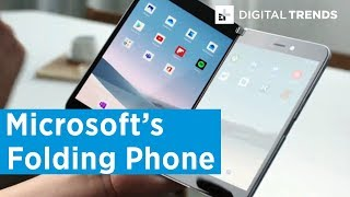 Microsoft Surface Duo Folding Smartphone And Neo Tablet | First Look