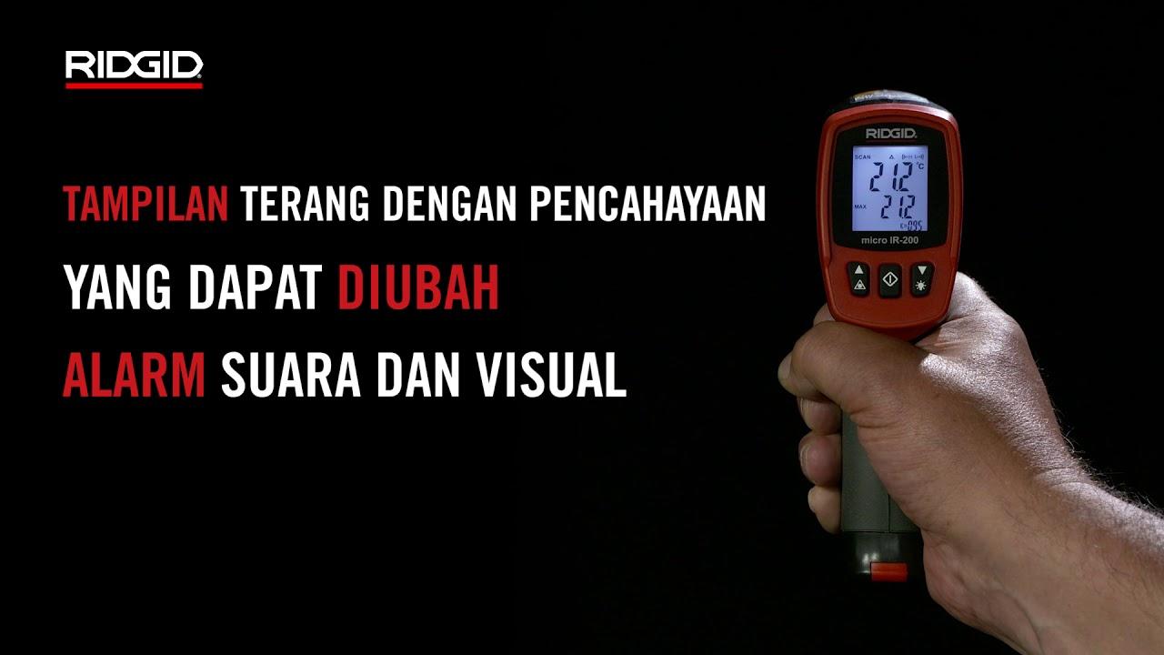 RIDGID micro IR-200 Thermometer Infrared