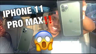 VLOG: GETTING THE IPHONE 11 PRO MAX | UNBOXING VIDEO