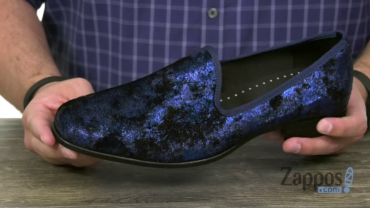 Stacy Adams Sultan Velour Loafer