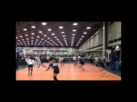 IMPACT 171 (Blue, near court) vs. SA Force Darkside - 2012 Lone Star Classic
