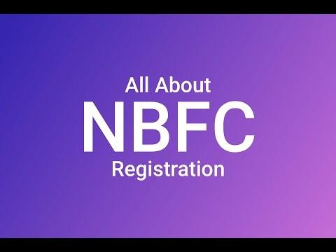 NBFC - Registration and Options