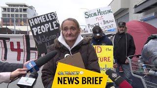 Homeless on Leon demand change