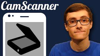 CAMSCANNER - Scanner ses Documents avec son Smartphone