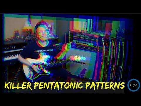 Warming up with... KILLER PENTATONIC PATTERNS (Jerry Bergonzi Style)
