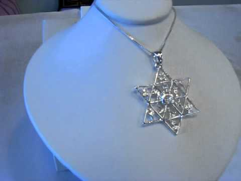 Sterling Silver  12 Tribes Of Israel - Jewish Jewelry