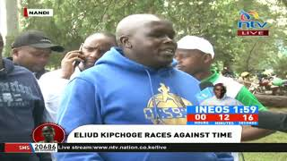INEOS 1:59 Challenge: Nandi residents closely following Eliud Kipchoge's attempt