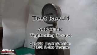 """Skidmore Test: ACDelco ARI2061-B 18V 1/2"""" Impact Wrench"""