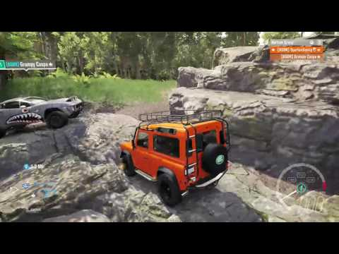 Forza Horizon 3: Offroading&Rock Climbing in a 900+HP Land Rover Defender!! on Xbox One