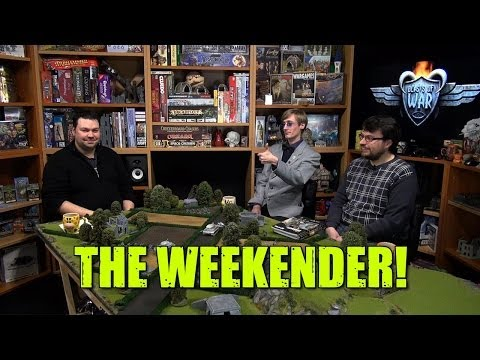 The Weekender: Bolt Action & Flames of War Terrain with Dr. Dave!