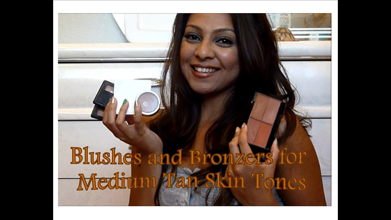 Blushes And Bronzers For Medium Tan Brown Olive Skin Tones