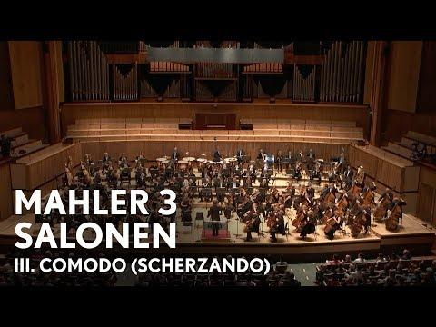 Esa-Pekka Salonen | Mahler's Third Symphony | III. Comodo (Scherzando) (Philharmonia Orchestra)
