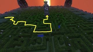 ЛАЙФХАК - КАК ПРОЙТИ ЛЕГКО ЛАБИРИНТ! - (Minecraft Mini Games)