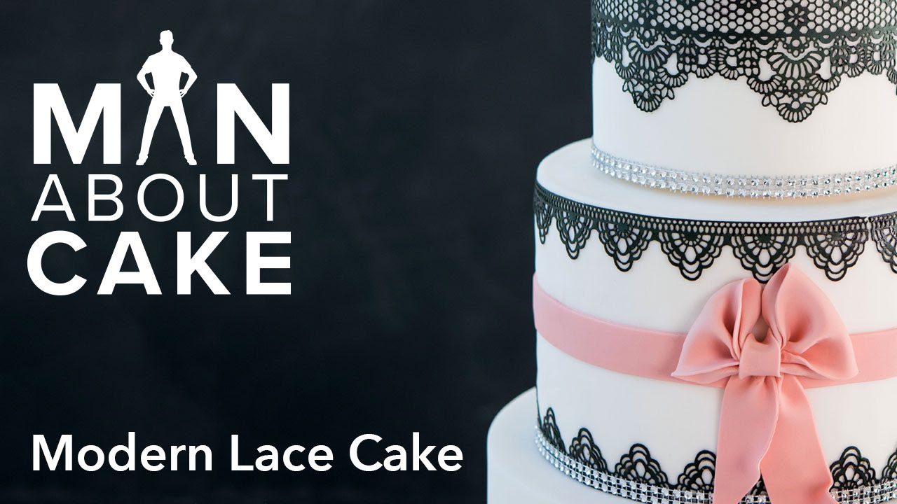 Man About Edible Lace Cakes