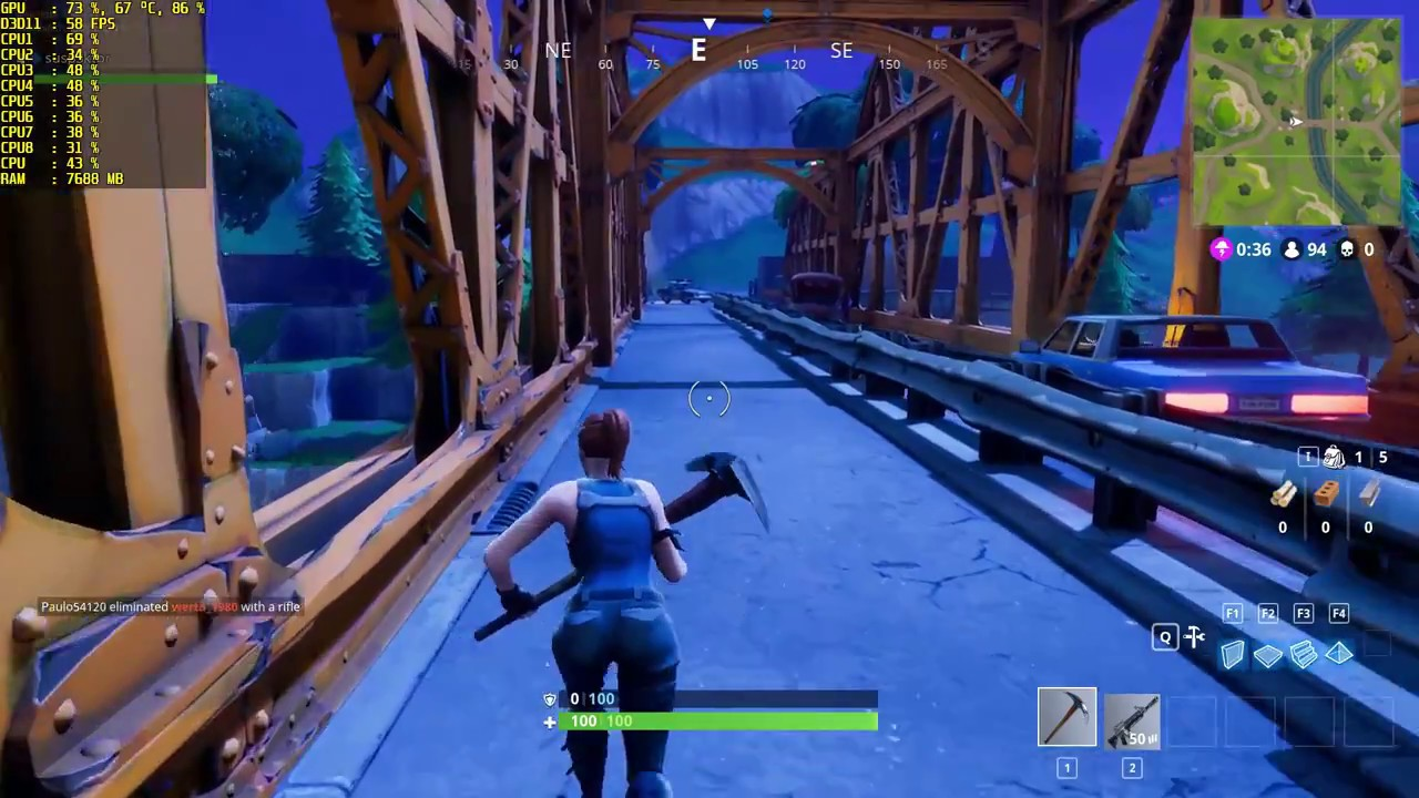 Fortnite Gtx 660 I5 2400 16gb Ram 720p Low To Epic