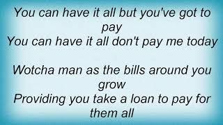 Simply Red - Home Loan Blues Lyrics