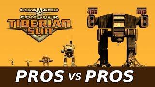 C&C Tiberian Sun: PRO vs PRO #2 - HEROIC EFFORT - 424 Kills