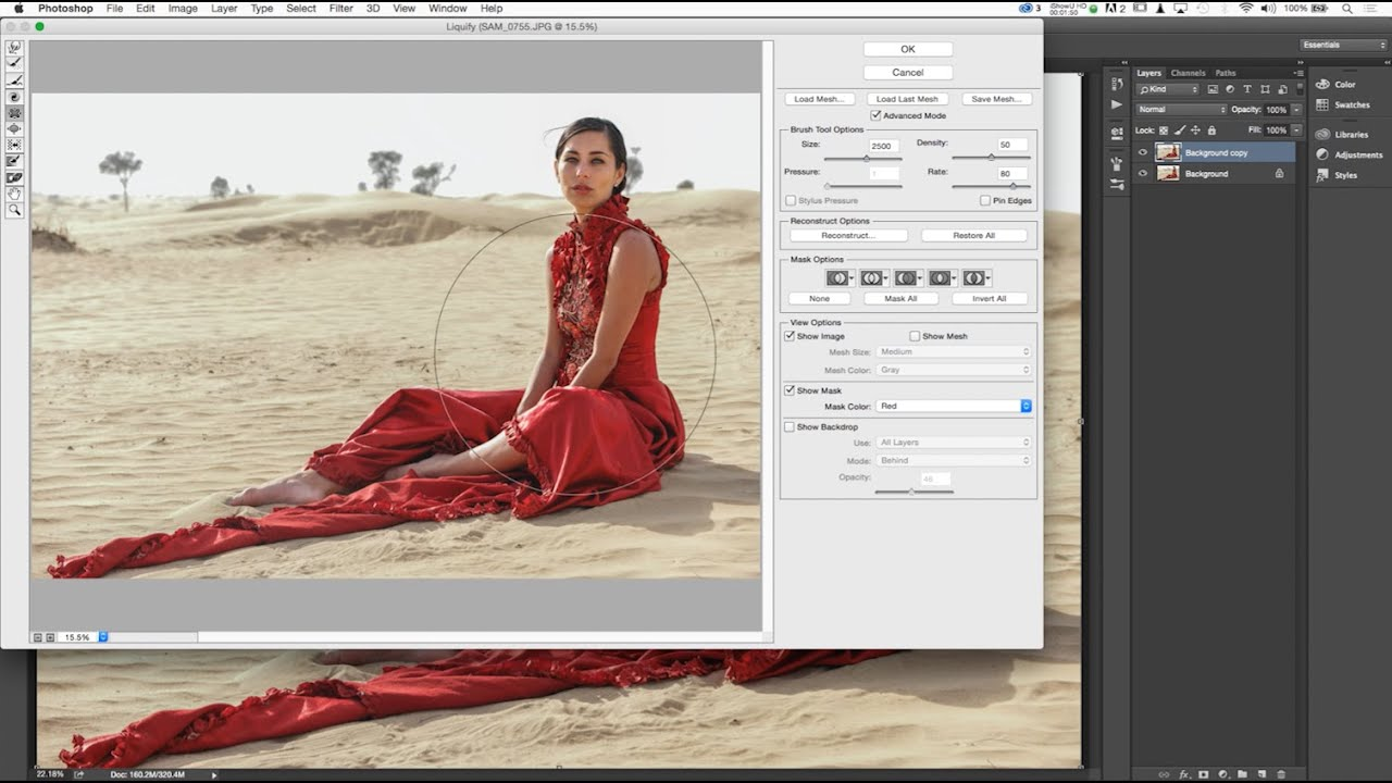how to use liquify in photoshop