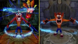 Crash Bandicoot 2 N.Sane Trilogy PS1 vs PS4 Graphics Comparison