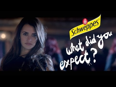 What Did You Expect? - Penélope Cruz - Schweppes 2014 / Director's Cut